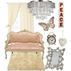 """""""Pastel Pink Interior"""" by kerry-searle on Polyvore http://www.polyvore.com/pastel_pink_interior/set?id=103539364"""