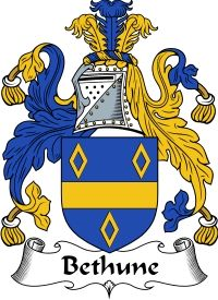Bethune Family Crest  Bethune Coat of Arms   VIEW OUR SCOTTISH FAMILY CREST / SCOTTISH COAT OF ARMS PRODUCTS     Orders over $85 qualify for...
