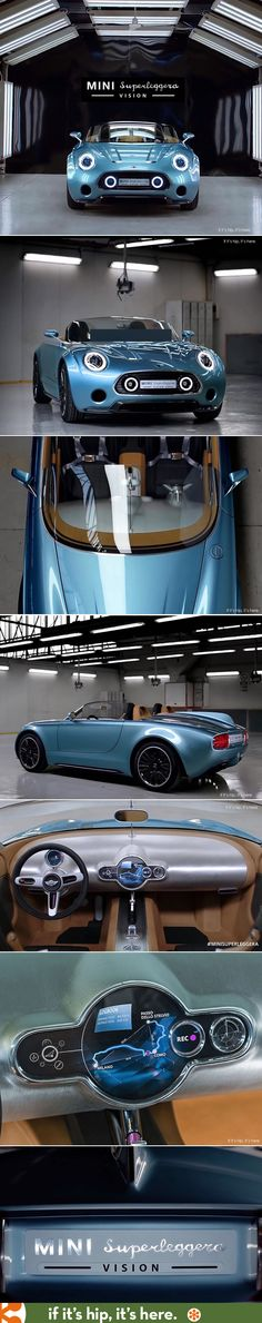 Now this is a MINI I would want. The Mini Superleggera Vision
