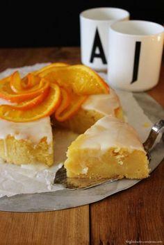 Rezept für ein Buttermilch Orangen Törtchen