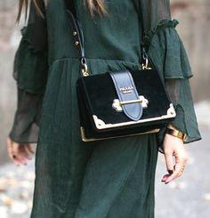 Prada 'Cahier' bag | pinterest: @Blancazh