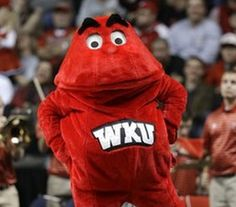 wku big red mascot | Western Kentucky will no longer be a member of the Sun Belt Conference ...
