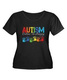 Look at this #zulilyfind! Black Autism Awareness Graphic Tee - Plus #zulilyfinds