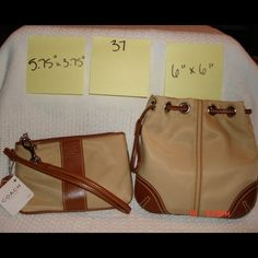 NWT Wristlet and Mini Bag NWT Wristlet and Mini Bag. Nylon. Coach Bags Mini Bags