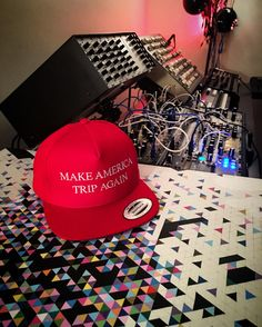 Thanks to artist Ettore Fritz for sending us this pic of his new Make  America Trip Again Snapback! 🇺🇸🍄 psychedelic trippy enlightenment  consciousness ... f592149e9885
