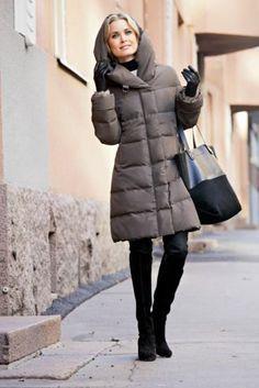 Финский пуховик пальто женский купить