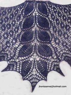 Ravelry: tormenta shawl pattern by Jhon Laserna
