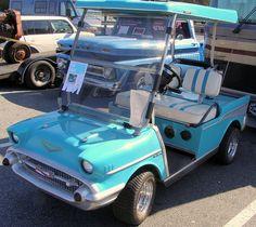 golf carts | 57 Chevy Golf Cart | Flickr - Photo Sharing!