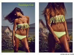 bikinis con flecos
