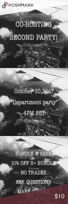 🎉CO-HOSTING MY SECOND POSH PARTY!!🎉❤️ Hi guys! 😊 I'm excited to announce I'll be hosting my second posh party so save the date! When it gets closer to the date I'll start deciding the host picks! Happy Poshing! ❤️ Brandy Melville Tops