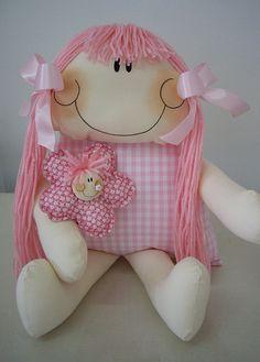 .boneca de tecido