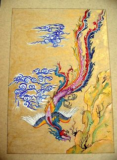 Simurgh on Pinterest | Iran, Persian and Phoenix