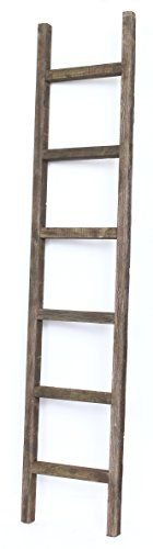 This 6 foot white color decorative wooden ladder will be a great addition to your bathroom. It is the perfect bathroom organizer that you would need to hang your towels or arrange your cosmetics. You will certainly love to have it there. This ladder decor is made of 100% recycled wood. It is... more details available at https://furniture.bestselleroutlets.com/accent-furniture/ladder-shelves/product-review-for-barnwoodusa-rustic-6-foot-decorative-ladder-100-reclaimed-wood-ladd