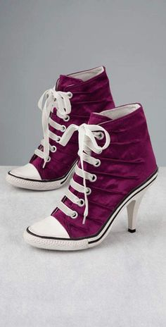 converse-factory$29 on. Converse Shoes For GirlsConverse High HeelsConverse  All StarHigh Heel SneakersWomen's ...