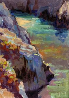 Painting China Cove « Life Plein Air....Ed Terpening