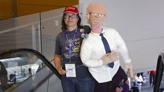 Saturday Night Social: Hosted By a Life-Size Crochet Doll of Bernie Sanders and His Date