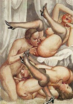 Vintage πορνό τέχνη