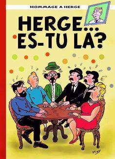 Les Aventures de Tintin - Album Imaginaire - Hergé ... Es-tu Là ?