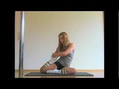 , Stretching Exercises for Splits and Back Flexibility. , Stretching Exercises for Splits and Back Flexibility Dance Flexibility Stretches, Back Flexibility, Flexibility Workout, Stretching Exercises, Stretching Video, Ballet Stretches, English Exercises, Pole Fitness, Fitness Tips