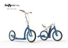 SwiftyONE MK3 Dark Blue and Blue