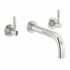 Secta Wall Mounted Basin Mixer Tap | VictoriaPlum.com