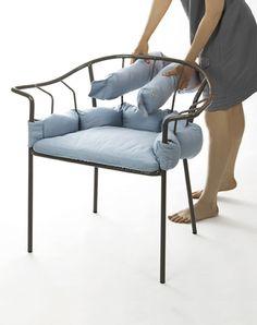 Serpentine chair by Eléonore Nalet.