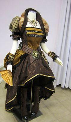 Steampunk full costume