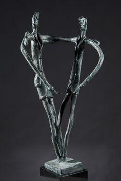 GAZES bronze cm 79 arch.14101 SGUARDI