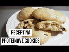 RECEPT: Proteinové cookies - YouTube Baked Potato, Potatoes, Cookies, Baking, Ethnic Recipes, Youtube, Food, Crack Crackers, Bakken