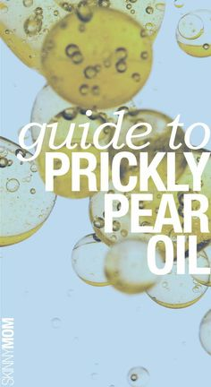 Health benefits of prickly pear oil!