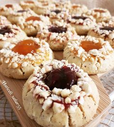 Encantar Tutorial and Ideas Yummy Snacks, Yummy Food, Cookie Recipes, Dessert Recipes, Brownie Cookies, Turkish Recipes, Appetisers, Frozen Yogurt, Great Recipes