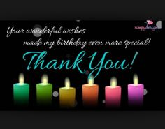 Thank You So Much Dear Friends For The Birthday Wishes Thank You Happy Birthday Wishes Thanks