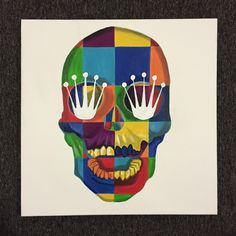 Image of Rolex Skull Pop Art - Limited Edition of 20 House Hacks, Vanitas, Memento Mori, Skull Art, Rolex, Pop Art, Make It Yourself, Watches, Poster
