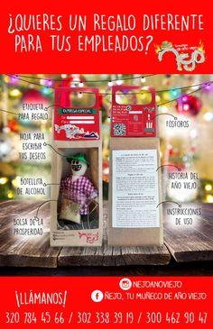 Ñejo, tu muñeco de año viejo. Más info 300 462 90 47. #ñejotumuñecodeañoviejo #añoviejo #ñejo #ñejoañoviejo #muñecodeañoviejo #añoviejo #añonuevo #ñejoañonuevo #ritual #aguinaldos Kit, Ideas, Frases, Basket Gift, End Of Year, Christmas Decor, Presents, Manualidades, Thoughts