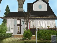 Modern Time Sims 2 House, Gazebo, Pergola, Modern Times, Have Fun, Outdoor Structures, Building, Outdoor Decor, Inspiration
