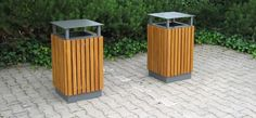 Serie 900, Stadtmobiliar, public design, Abfallbehälter, Ascher, Waste receptacles & ashtrays