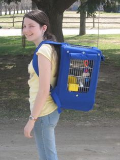 Adventure Pack for parrots... great for traveling or emergencies.