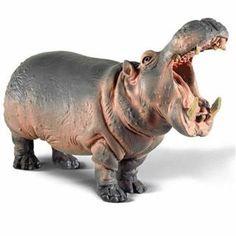 Schleich Hippopotamus male Africa Figurine