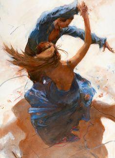 "Unbetitelt Unbetitelt,painting gyclli: "" Allen Bentley painting / Dance allenbentleystudi… "" Related posts:Brick Stitch & Mock Cables Block - Free Crochet Pattern and TutorialThis is so cuteMbn to be prettyHow to Crochet Tulip StitchDer. Dancing Drawings, Art Drawings, Romance Arte, Vintage Romance, Danse Salsa, Dance Paintings, Couple Art, Dance Photography, Dance Music"