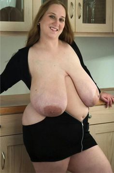 """vision3totallypalesoul: """" One of the best figured femals I ever have seen with ideal big saggy udders ! Heavy pregnant she would look still very much better ! """" very nice very long hangers"""