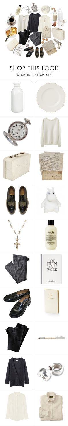"""""""Father Silva's Day Off"""" by haldrauve ❤ liked on Polyvore featuring Crate and Barrel, Shabby Chic, Toast, Paul Smith, Devon Page McCleary, Hiltl, Selfridges, Aspinal of London, Faber-Castell and Giada Forte"""