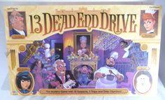 Vintage 13 Dead End Drive Board Game 1993 Complete Milton Bradley Ages 9 and up #MiltonBradley