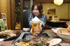"japankuru<Hokkaido TripⅡ  ⑨ / 9 ☆Cheers!> A kirin Ichiban  shibori ""squeezed"" frozen <draft> Kirin Beer Garden Nakajima-koen Store@ Sapporo  #sapporo #japan #japankuru #cooljapan #hokkaido #kirin #beer #jinisukan #mutton"