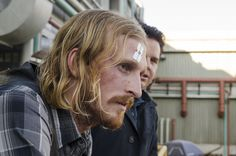 Austin Amelio as Dwight, Josh McDermitt as Dr. Eugene Porter - The Walking Dead _ Season Episode 11 - Photo Credit: Gene Page/AMC Walking Dead Season, Fear The Walking Dead, Austin Amelio, Twd 7, Eugene Porter, Blue Streaks, The Day Will Come, Season 7, Photo Credit