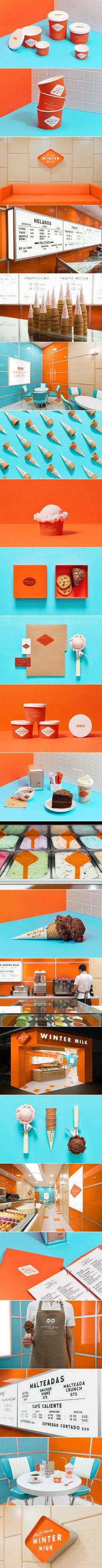 We Love The Retro Inspired Branding For This Ice Cream Shop — The Dieline   Packaging & Branding Design & Innovation News