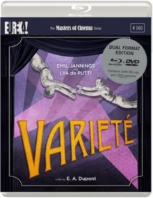 VARIETÉ – THE MASTERS OF CINEMA SERIES (PG) 1925 GERMANY DUPONT, E.A. DUAL FORMAT DVD/BLU RAY £19.99 Boss Huller (Emil Jannings) tells his story from prison about how he and his lover Bertha-…