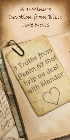 Have you ever had someone misrepresent you or tell an outright lie about you? These 5 Principles from Psalm 62 can help us deal with Slander. Prayer Verses, Prayer Quotes, Bible Quotes, Bible Verses, Wisdom Quotes, Knowledge Quotes, Bible Knowledge, Adversity Quotes, Christian Love