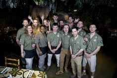 Some of the floor team pre opening! If you want to work in a friendly and fun environment email your CV to jobs@therainforestcafe.co.uk