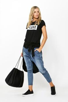 Luxe Punched Neoprene Tote Bag