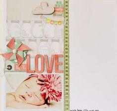 American Crafts Dear Lizzy - Jenny Chesnick - My Love